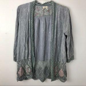 Gimmicks | Crochet Patchwork Kimono